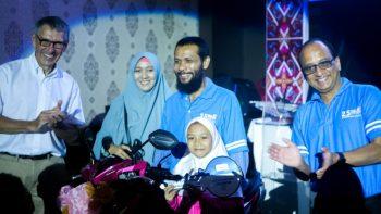 celebrating 700 Mitra mata in indonesia