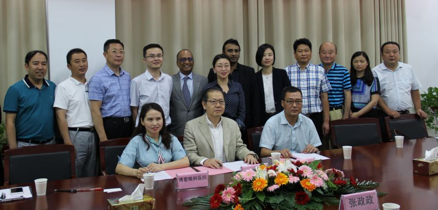 Eliminate Poor Vision From Huoqiu County