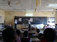 Vision screening in the classroom