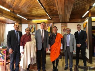 Meeting with the Prime Minister of Bhutan