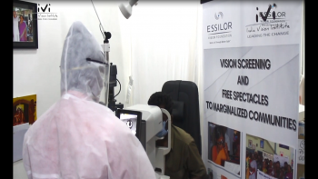 Evf India Ivi Covid Safe Vision Screening Image