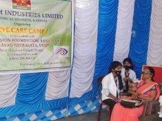 Vision Screening Event In Karnataka