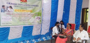 Vision Screening Event In Karnataka