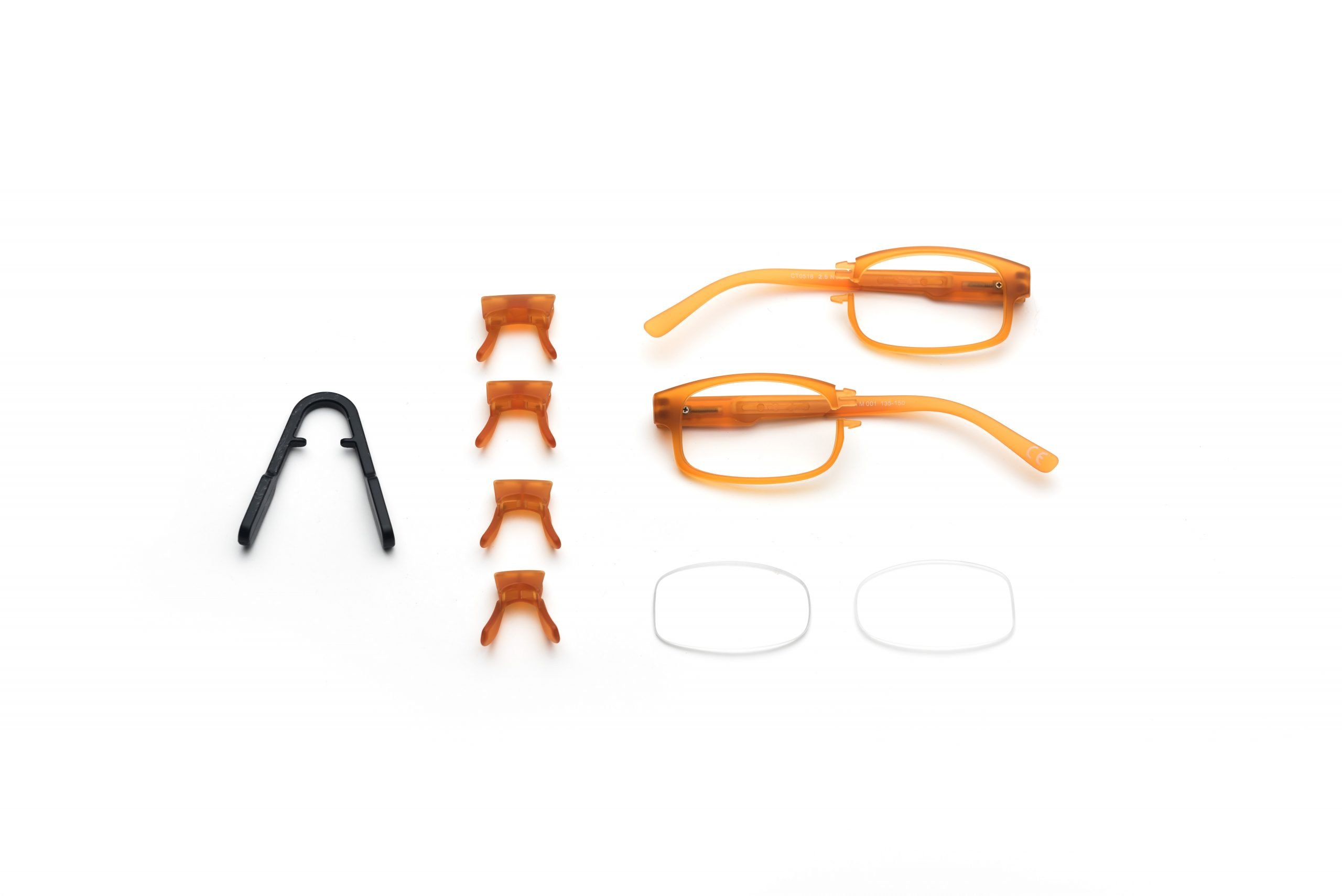 Ready to assemble Eyeglasses make vision care accessible